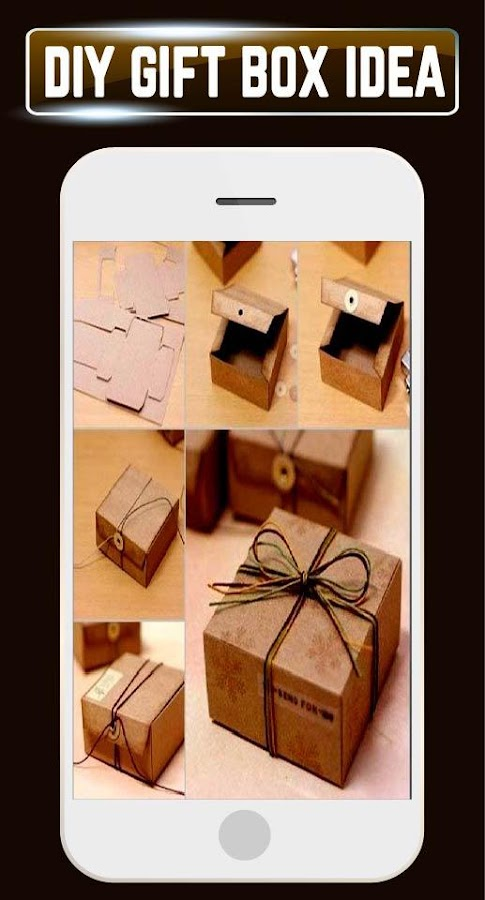 DIY Gift Box Making Ideas Paper Craft Tutorial New Android Apps – Diy Wedding Card Box Instructions
