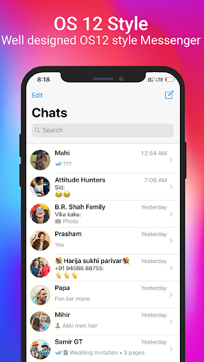 Themes Color Messenger screenshot 7