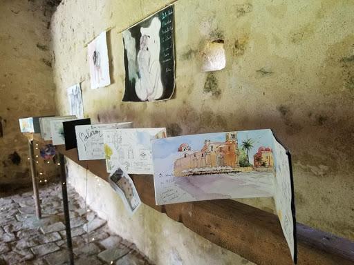 expo aquarelle lavoir de Dormelles_ Jeanne PAPA 20 juin 2021