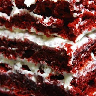 Gluten Free Red Velvet Cake.