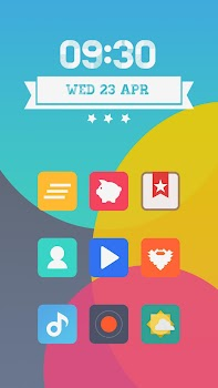 Miu - MIUI 6 Style Icon Pack- screenshot