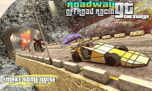 Roadway GT car stunts offroad racing - náhled