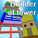 Builder of tower icon
