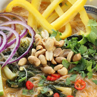 Thai Red Curry Noodle Soup.