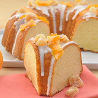 Ginger Grapefruit Pound Cake
