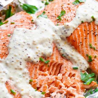 Salmon Garlic Cream Sauce Recipes.