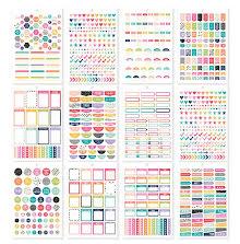 Simple Stories Carpe Diem A5 Planner Sticker Tablet - Planner Basics