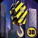 Skyscraper Construction Sim 3D icon