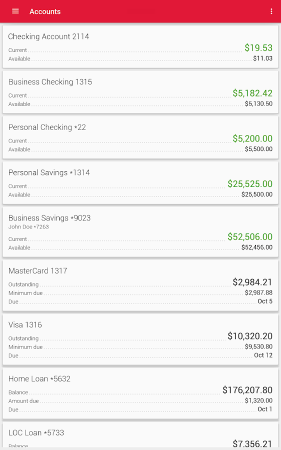 Meritrust CU Mobile Banking- screenshot