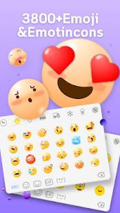 Emoji keyboard -Theme, Emoji, Gif 1