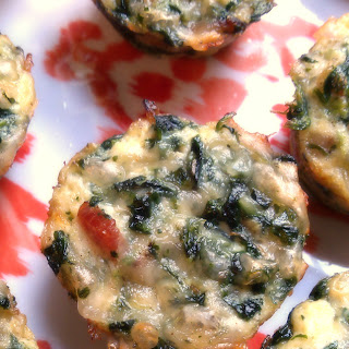 Bacon & Spinach Mini Quiches