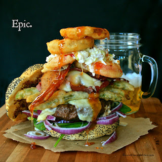 The Beer-Battered Farmer's Market Burger
