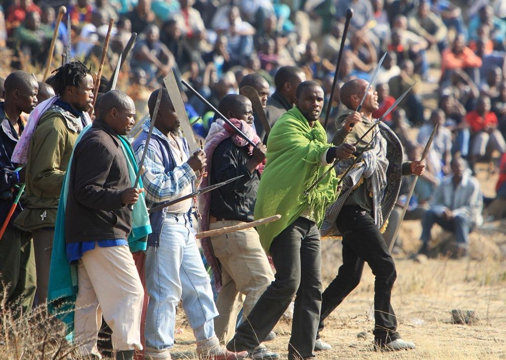 Mogoeng Mogoeng on Marikana massacre: 'It never should've happened'