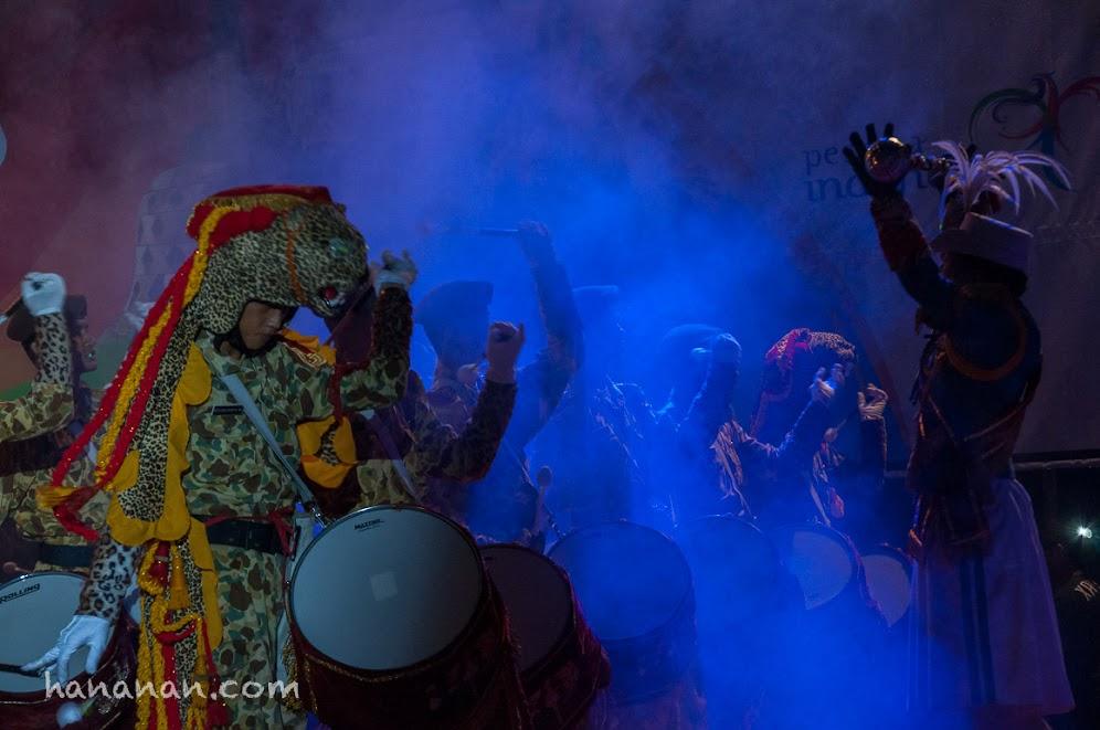 Sang Macan Lembah Tidar. Penabuh drum Canka Lokananta.