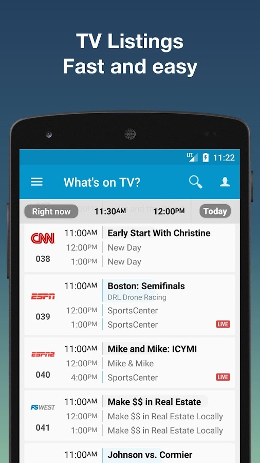 TV Listings by TV24 - US TV Guide- screenshot