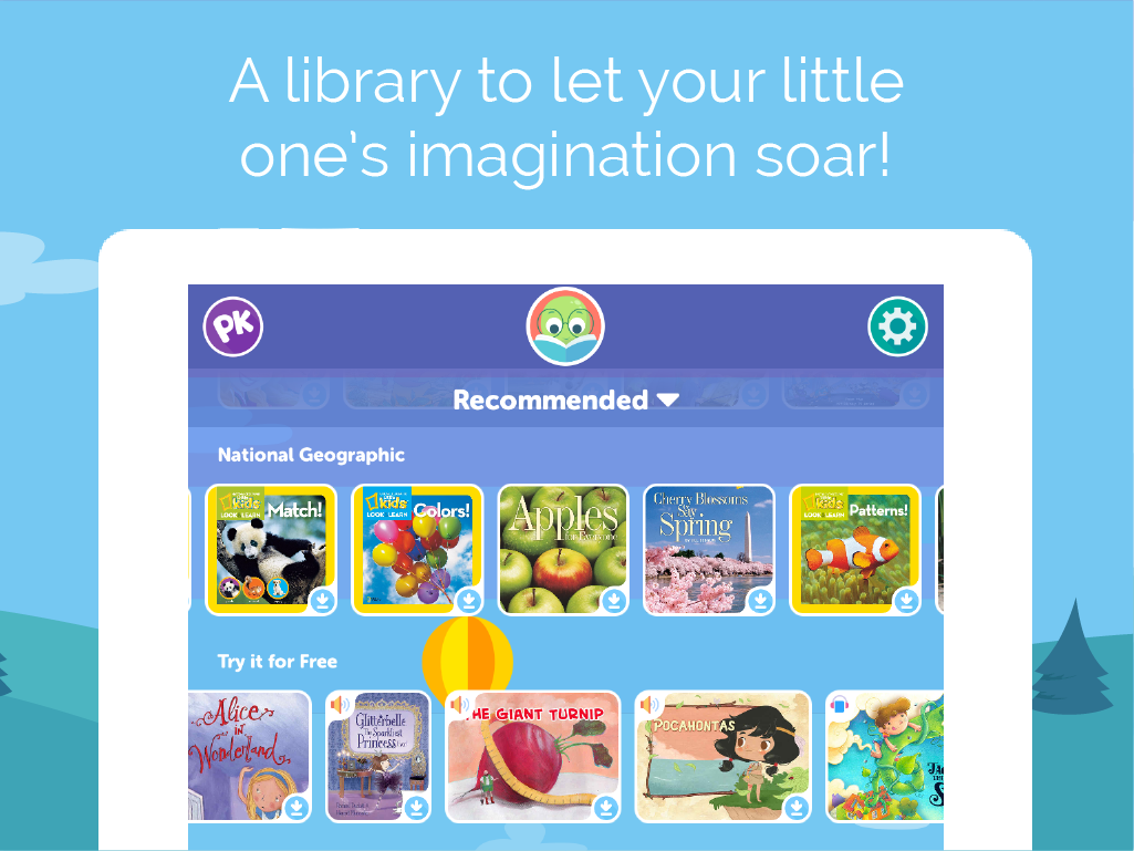 PlayKids Stories - Kids Books- screenshot