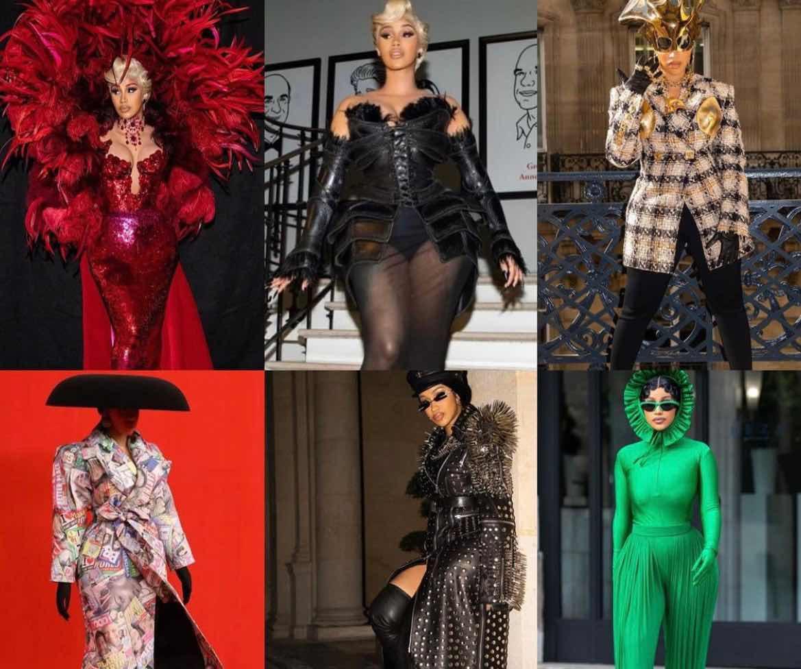 Cardi B Won Paris Fashion Week