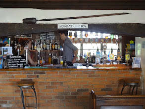 Photo: Lock Inn is filled with personality - along with great food and wonderful real ales.