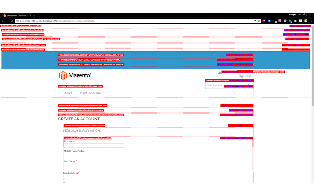 Weboffice - Magento PathHints