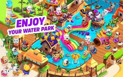 Talking Tom Pool Puzzle Game Screenshot