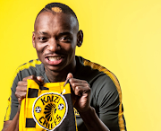 Newly signed Kaizer Chiefs' Zimbabwean forward Khama Billiat poses for the clubs cameras in a photo posted on Twitter on Monday June 25 2018. .