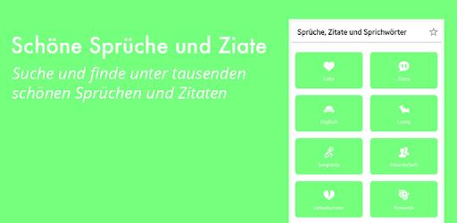 Sprüche Zitate Sprichwörter Aplicaciones En Google Play