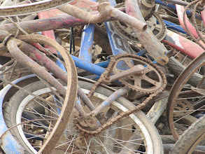 Photo: Day 304 - Pile of Old Bikes
