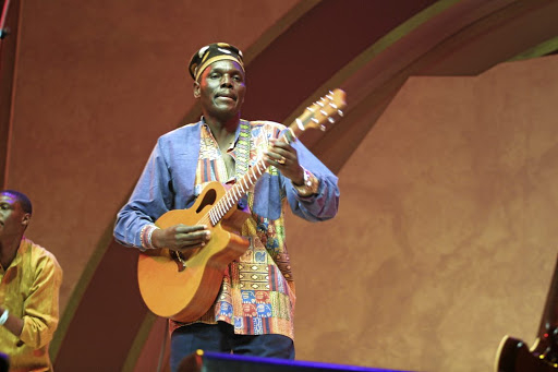 Internationally acclaimed Zimbabwean musician Oliver Mtukudzi is concerned about how people compete with one another instead of complementing one another. He says this is not necessary, as we all need one another. Picture: SUNDAY WORLD