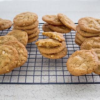 Crunchy Buttery Cashew Cookies.
