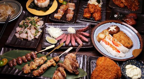 台南美食-衫樽串燒居酒屋~藍晒圖舊址變身日式風格居酒屋,彷彿穿越時光般的迷人氛圍