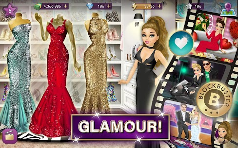 Hollywood Story Mod Apk Fashion Star 9.12.1 (Free Shopping) 7