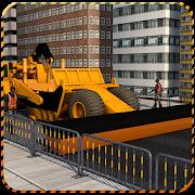 City Road Construction 2018 - Real Highway Builder APK for Bluestacks