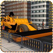 City Road Construction 2018 - Real Highway Builder
