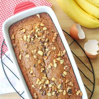 Sour Cream & Walnut Banana Bread