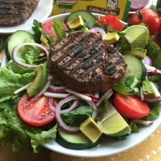Grilled Beef Tenderloin Salad.