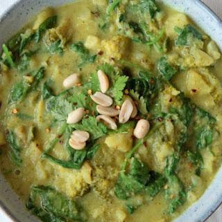 Creamy Green Coconut Curry Recipe