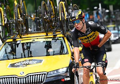 🎥 Wout van Aert pakt de koninginnenrit in de Tour of Britain in de sprint tegen Alaphilippe