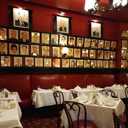 Billedresultat for sardi's restaurant new york