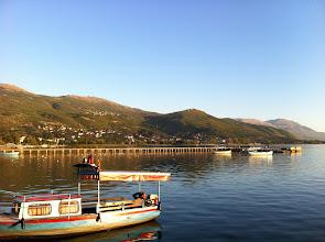 Photo: Lake Ohrid.