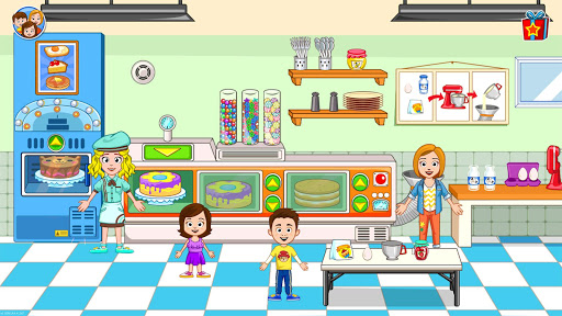 My Town : Bakery & Cooking Kids Game android2mod screenshots 6