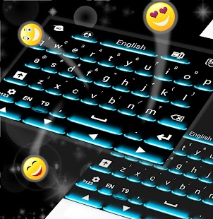 Neon Theme Keyboard Phone- screenshot thumbnail