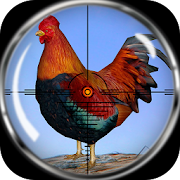 Jungle Chicken Hunting - Furry Shooting Roaster 3D  Icon