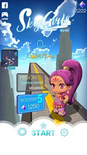 Sky Girls: Flying Runner Game мод
