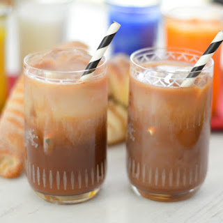 Mexican Chocolate Iced Coffee