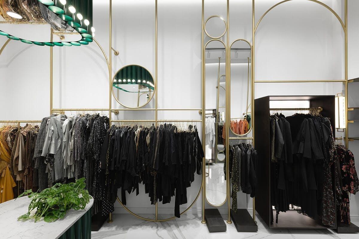 giá treo quần áo shop thời trang đẹp