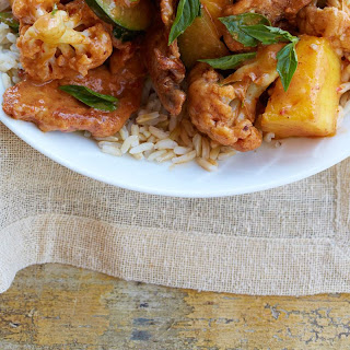 Pork and Pineapple Curry.