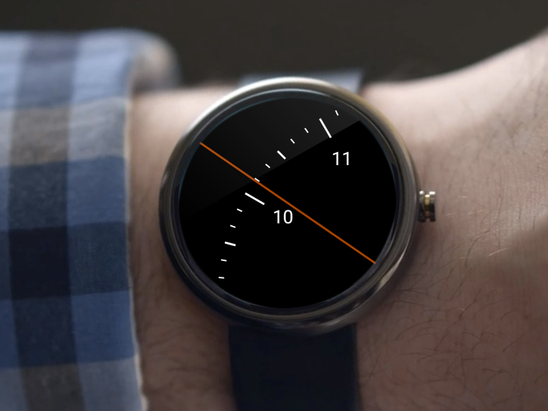 Spotlight Watch Face- screenshot