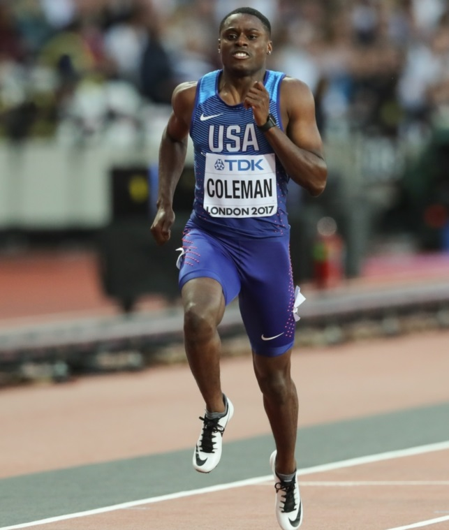 Christian Coleman Takes Down 20-year-old World Sprint Record