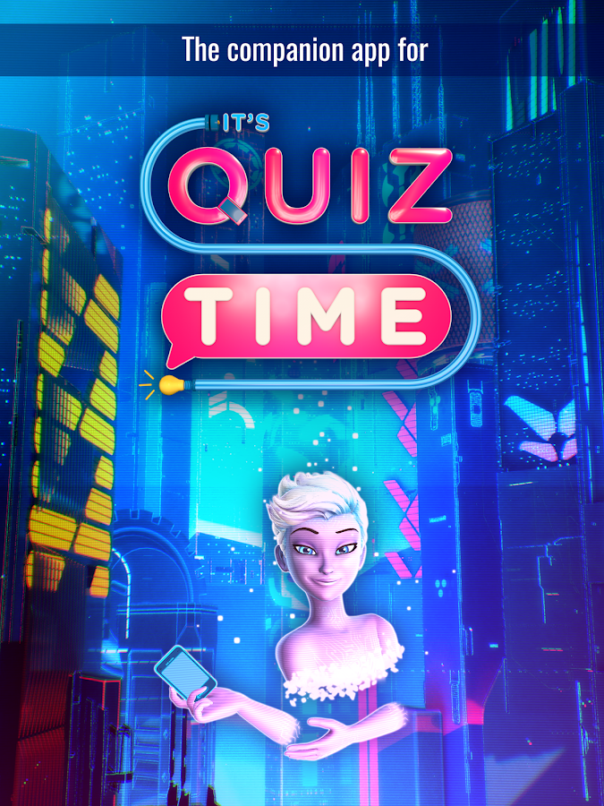 It's Quiz Time: Companion App- screenshot