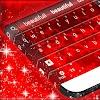 Clavier Rouge élégant d'amour